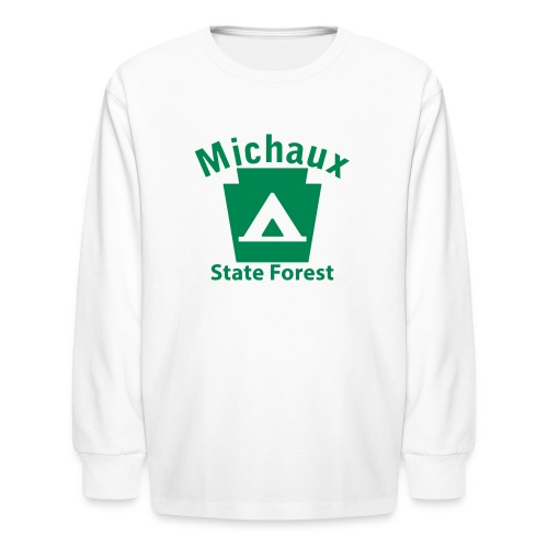 Michaux State Forest Keystone Camp - Kids' Long Sleeve T-Shirt