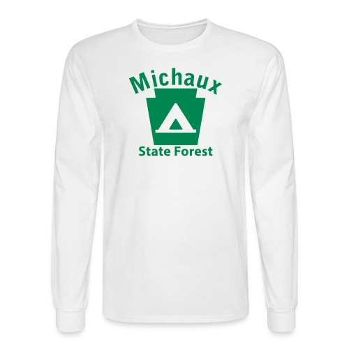 Michaux State Forest Keystone Camp - Men's Long Sleeve T-Shirt