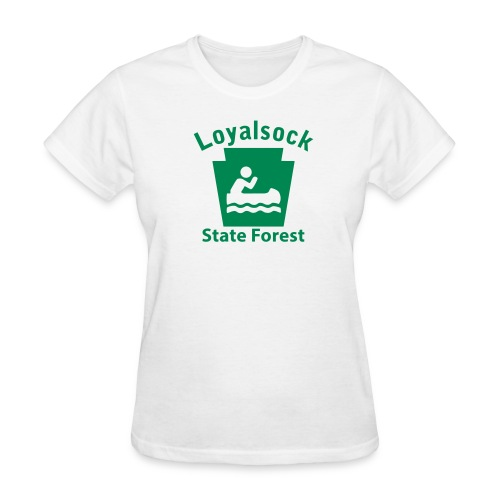 Loyalsock State Forest Keystone Boat - Women's T-Shirt