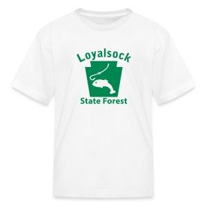Loyalsock State Forest Keystone Fish - Kids' T-Shirt