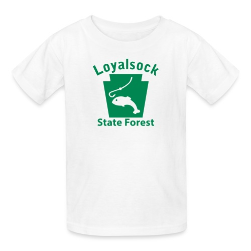 Loyalsock State Forest Keystone Fish - Kids' T-Shirt