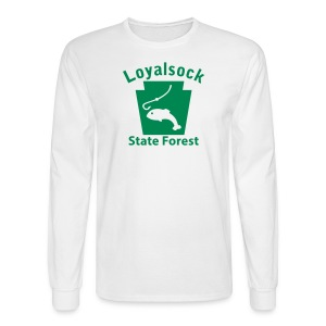 Loyalsock State Forest Keystone Fish - Men's Long Sleeve T-Shirt