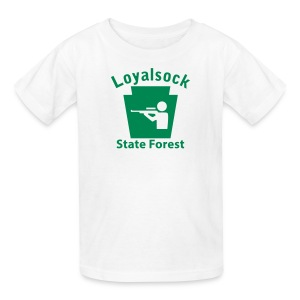 Loyalsock State Forest Keystone Hunt - Kids' T-Shirt