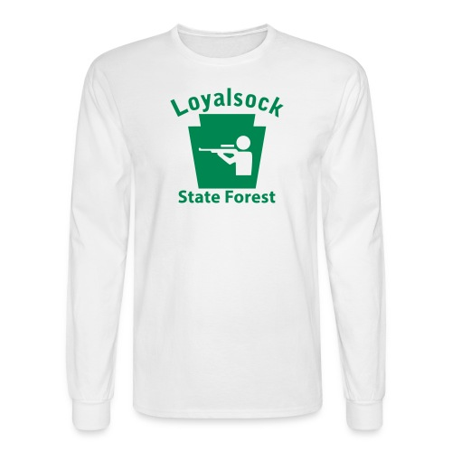 Loyalsock State Forest Keystone Hunt - Men's Long Sleeve T-Shirt
