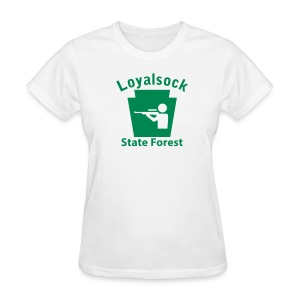 Loyalsock State Forest Keystone Hunt - Women's T-Shirt