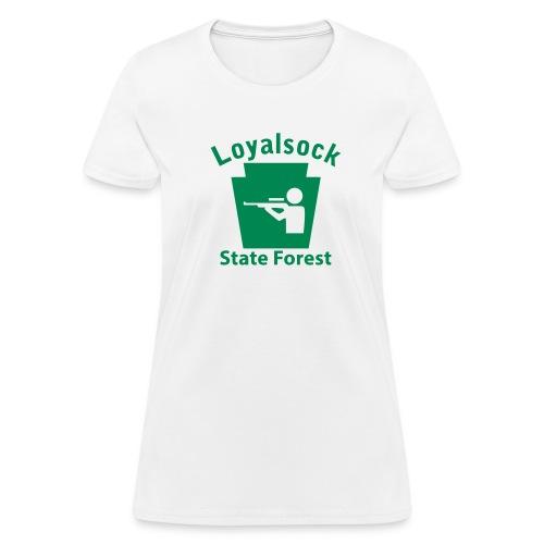 Loyalsock State Forest Keystone Hunt - Women's T-Shirt