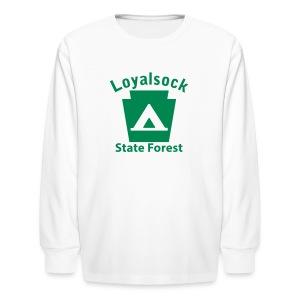 Loyalsock State Forest Keystone Camp - Kids' Long Sleeve T-Shirt