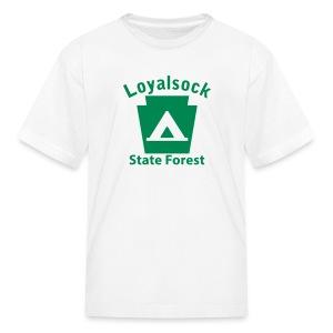 Loyalsock State Forest Keystone Camp - Kids' T-Shirt