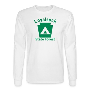 Loyalsock State Forest Keystone Camp - Men's Long Sleeve T-Shirt
