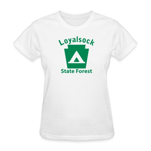 Loyalsock State Forest Keystone Camp - Women's T-Shirt