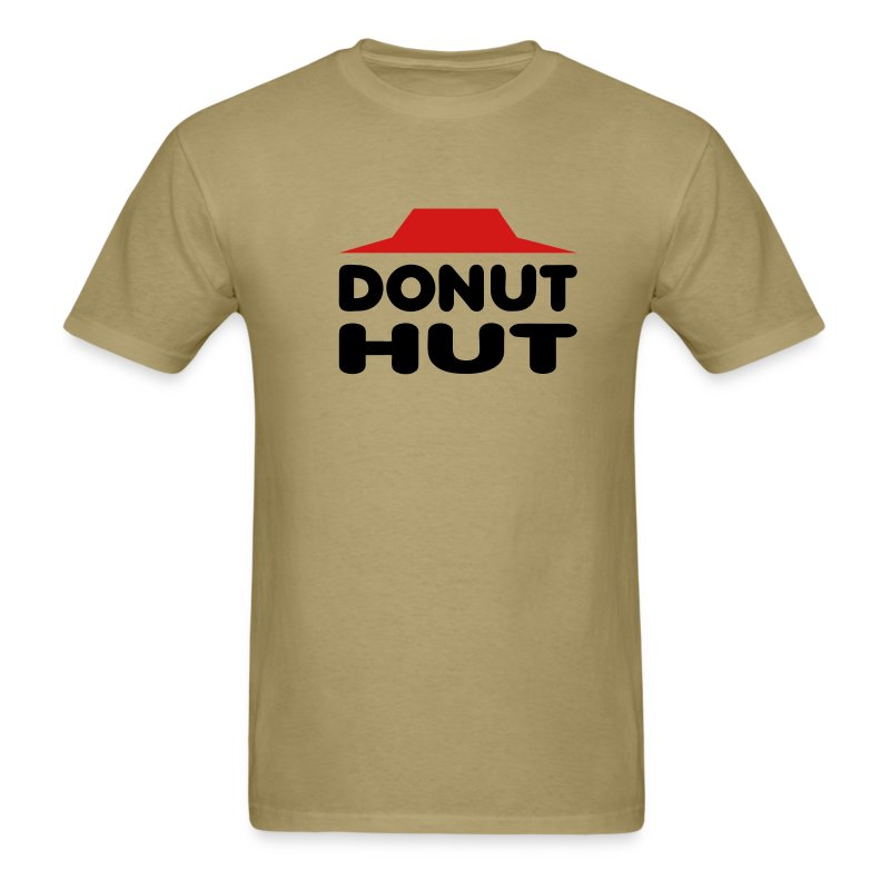 Donut Hut (alternate colors) - Men's T-Shirt