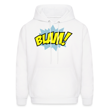 White Blam Hoodies