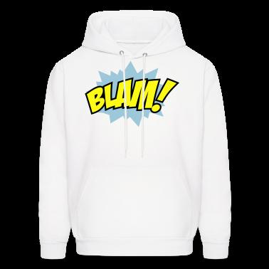 White Blam Hoodies