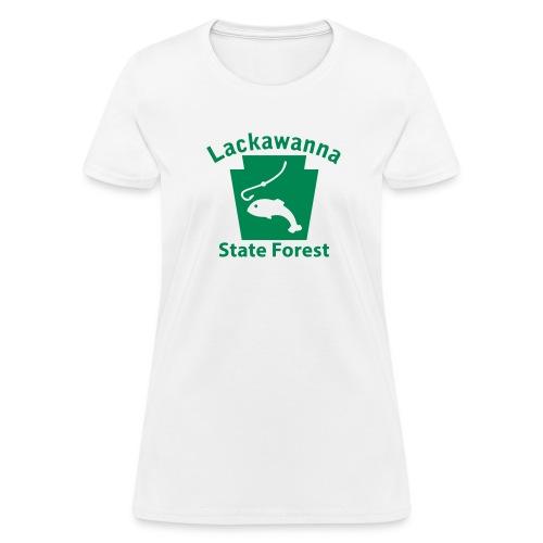 Lackawanna State Forest Keystone Fish - Women's T-Shirt