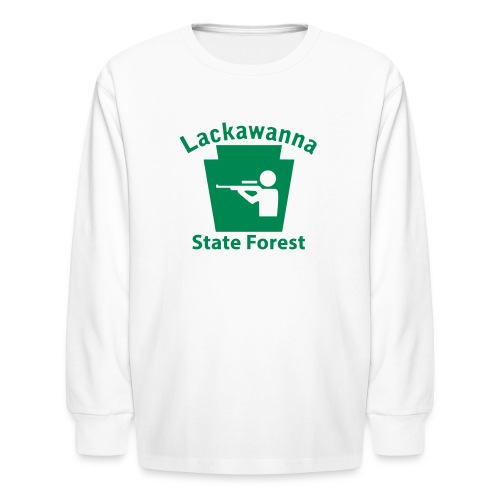 Lackawanna State Forest Keystone Hunt - Kids' Long Sleeve T-Shirt