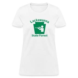 Lackawanna State Forest Keystone Hunt - Women's T-Shirt