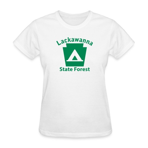 Lackawanna State Forest Keystone Camp - Women's T-Shirt