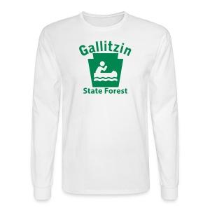 Gallitzin State Forest Keystone Boat - Men's Long Sleeve T-Shirt