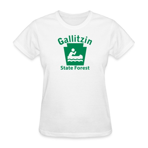 Gallitzin State Forest Keystone Boat - Women's T-Shirt