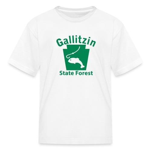 Gallitzin State Forest Keystone Fish - Kids' T-Shirt