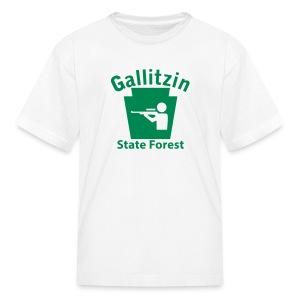 Gallitzin State Forest Keystone Hunt - Kids' T-Shirt