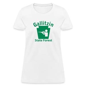 Gallitzin State Forest Keystone Hunt - Women's T-Shirt