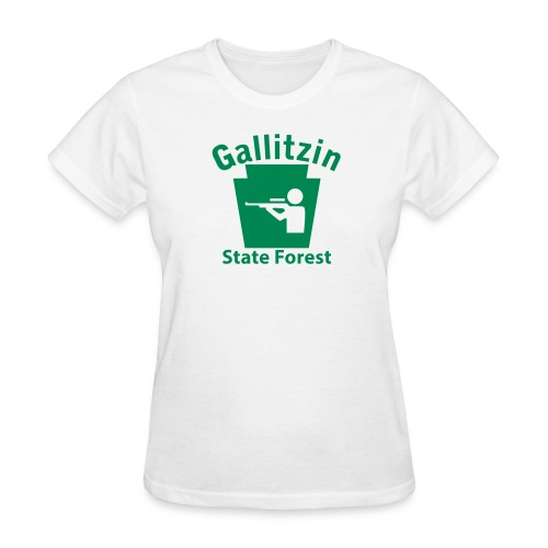 Gallitzin State Forest Keystone Hunt - Women's T-Shirt
