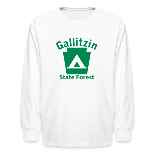 Gallitzin State Forest Keystone Camp - Kids' Long Sleeve T-Shirt