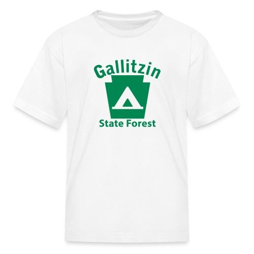 Gallitzin State Forest Keystone Camp - Kids' T-Shirt