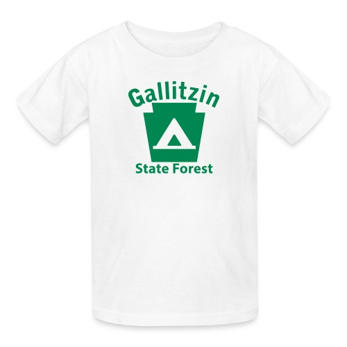 Gallitzin State Forest Keystone Camp - Kids' T-Shirt