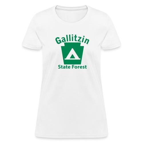 Gallitzin State Forest Keystone Camp - Women's T-Shirt