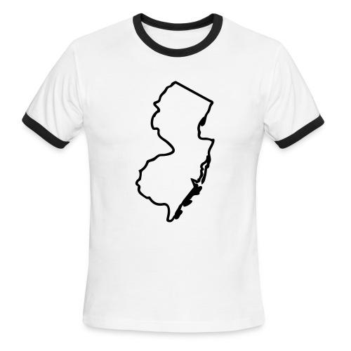 Jerzey Boyz tee - Men's Ringer T-Shirt