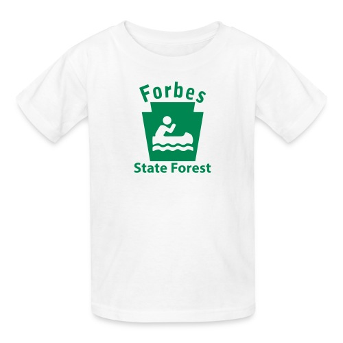 Forbes State Forest Keystone Boat - Kids' T-Shirt