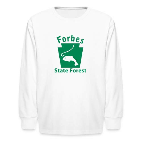 Forbes State Forest Keystone Fish - Kids' Long Sleeve T-Shirt