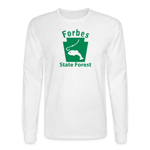 Forbes State Forest Keystone Fish - Men's Long Sleeve T-Shirt