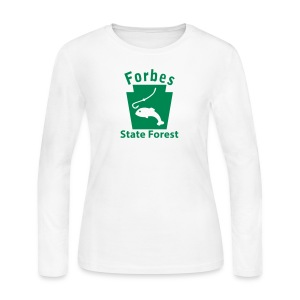 Forbes State Forest Keystone Fish - Women's Long Sleeve Jersey T-Shirt