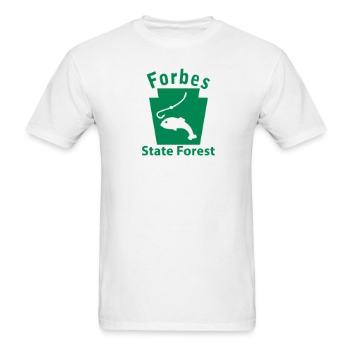 Forbes State Forest Keystone Fish - Men's T-Shirt