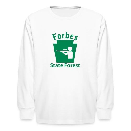 Forbes State Forest Keystone Hunt - Kids' Long Sleeve T-Shirt