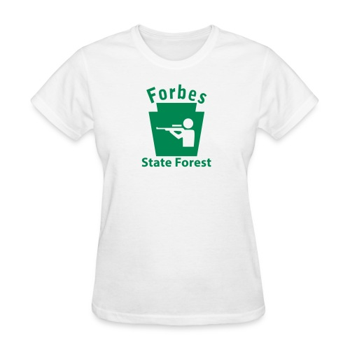 Forbes State Forest Keystone Hunt - Women's T-Shirt