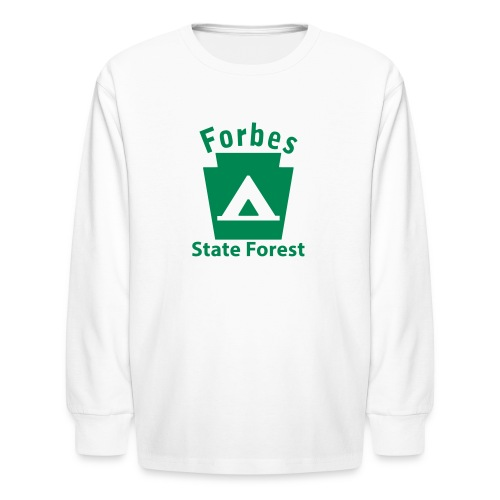 Forbes State Forest Keystone Camp - Kids' Long Sleeve T-Shirt