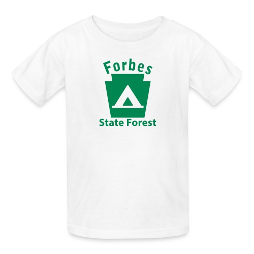 Forbes State Forest Keystone Camp - Kids' T-Shirt