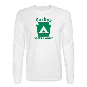 Forbes State Forest Keystone Camp - Men's Long Sleeve T-Shirt