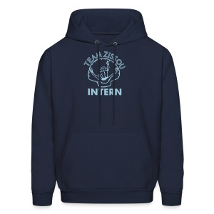 intern hoody - lovely and thick - Men's Hoodie
