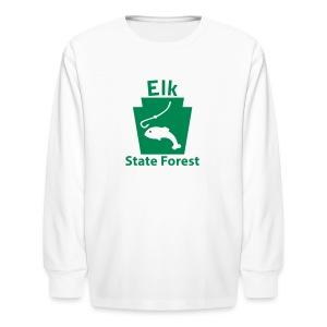 Elk State Forest Keystone Fish - Kids' Long Sleeve T-Shirt