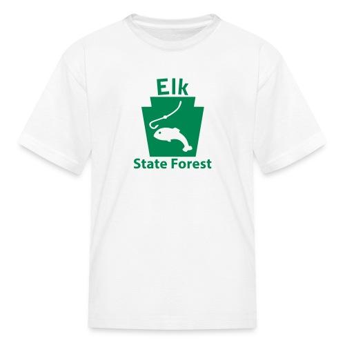 Elk State Forest Keystone Fish - Kids' T-Shirt
