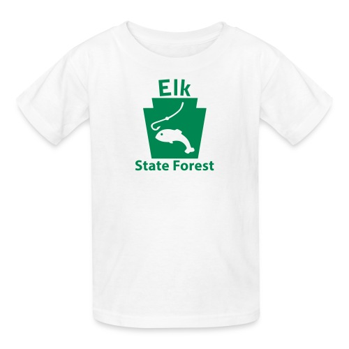 Elk State Forest Keystone Fish - Kids' T-Shirt