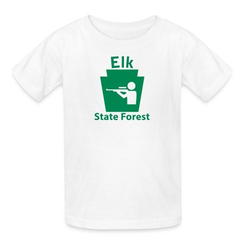 Elk State Forest Keystone Hunt - Kids' T-Shirt