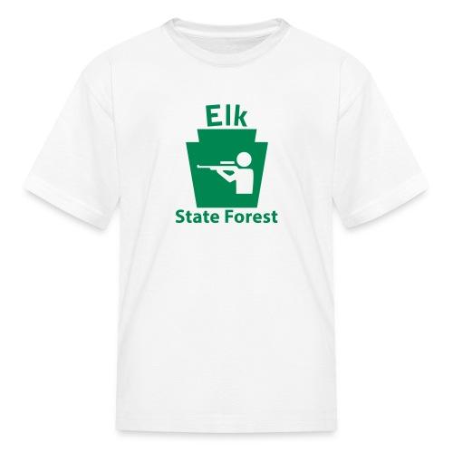 Elk State Forest Keystone Hunt - Kids' T-Shirt