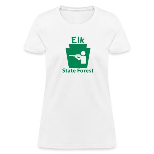 Elk State Forest Keystone Hunt - Women's T-Shirt