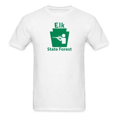 Elk State Forest Keystone Hunt - Men's T-Shirt
